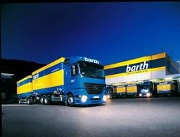 LKW der Spedition Barth